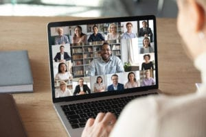 Remote Working Online Meeting